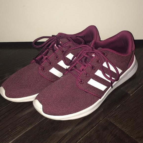 adidas Shoes   Maroon Adidas Neo